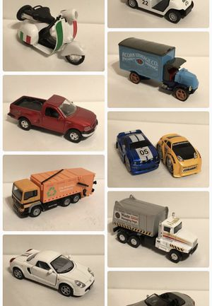 Many collectible cars , action figures, Funko and toys for Sale in Kirkland, WA