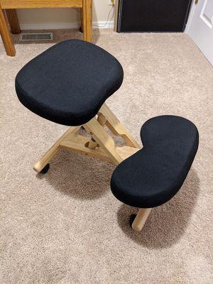 Wooden Ergonomic Kneeling Office Chair for Sale in Seattle, WA
