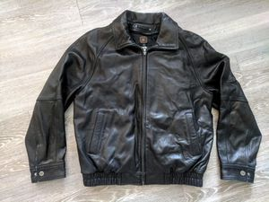 Leather Bomber Jacket for Sale in Frederick, MD