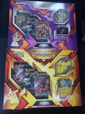 POKEMON TCG Pikachu/Mimkyu Sidekick Collection Box SEALED Set Of Two for Sale in Davenport, FL