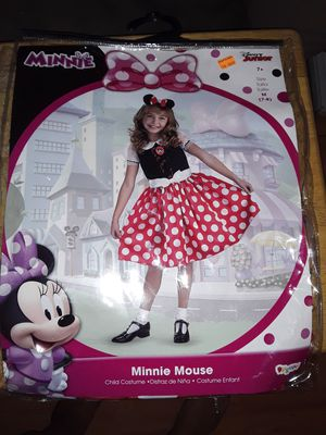 Minnie Mouse Costume Size 7/8 for Sale in Pomona, CA