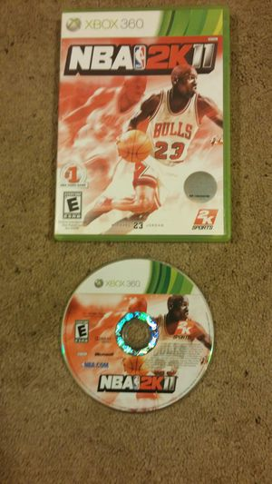 NBA 2k 11 xbox 360 game for Sale in Pittsburgh, PA