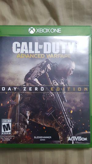 Call of Duty Advance Warfare Day Zero Edition Xbox One for Sale in Miami Gardens, FL