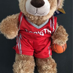 Build A Bear Houston Texans 2000 Jersey Teddy Bear for Sale in Humble, TX