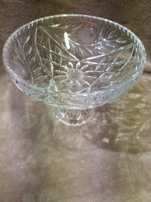 Antique cut glass food stand for Sale in Batsto, NJ