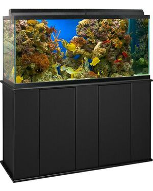 90 gallon aquarium setup lid tank stand for Sale in Severn, MD