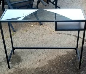 Glass Top Desk/table/vanity for Sale in Avocado Heights,  CA