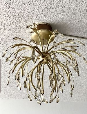 Modern Celling Lights . Golden Lighting Palm 32 Chandelier with Swarovski Crystal Accents. for Sale in Hollywood, FL
