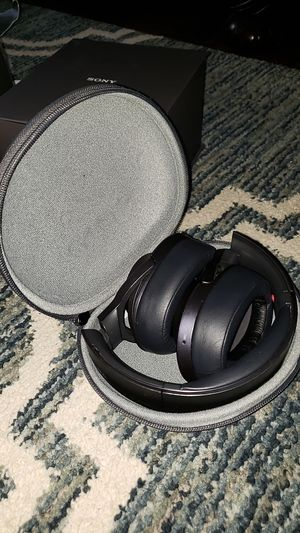Sony h.ear on MDR-100ABN Bluetooth Wireless Over-Ear Headphones with Mic and NFC - Noise-Canceling for Sale in Portland, OR