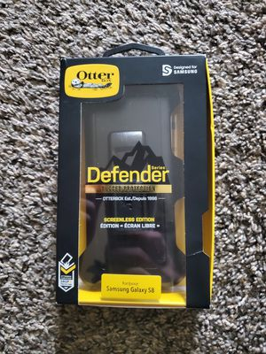 Phone case otter box with screen protector fits for Samsung s8 for Sale in Cudahy, WI