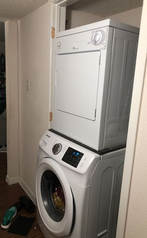 Washer and dryer not even a year old. for Sale in Austin, TX