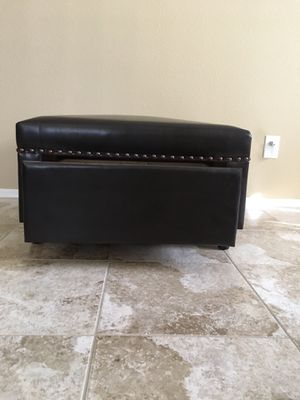 Ottoman with drawer for Sale in Chandler, AZ