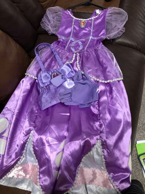 Sofia the first Halloween costume! for Sale in Herndon, VA