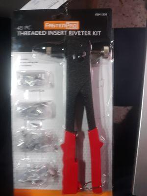 Fasten Pro 45-piece thread inserter Riveter kit for Sale in Kodak, TN