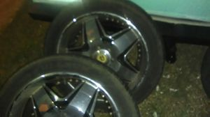 "26"" rims and tires for Sale in Alexandria, LA"