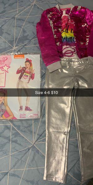 JoJo Siwa Halloween Costume Size 4-6 $10 for Sale in Chicago, IL