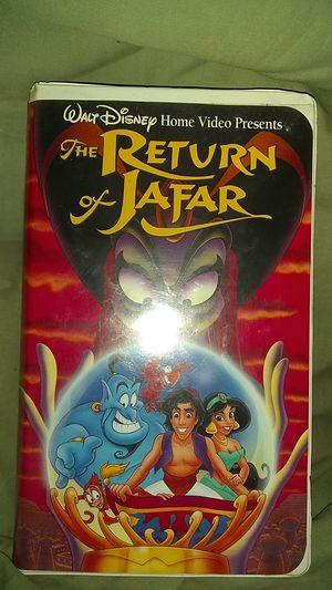 Disney return of jafar mint vhs collector s item for Sale in Trenton, NJ