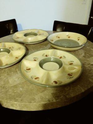 Four fiesta trays for Sale in Joliet, IL