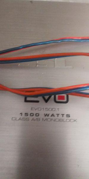 Vendo mi Amplificador de 1500watts for Sale in Chicago, IL