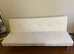 White Futon couch for Sale in Irwindale, CA