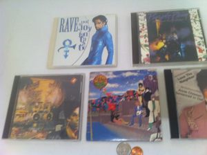 5 Really Nice Prince CDs, Music, All in Really Nice Condition, Put Away Nicely. 1. Prince, Rave. 2. Prince Purple Rain. 3. Prince Sign of the Time for Sale in Lakeside, CA