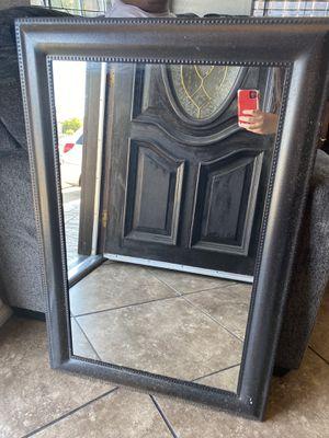 Black/Brown Rustic mirror for Sale in Wilmington, CA