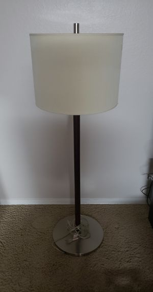 Lovely (heavy/sturdy) Floor Lamp $20 OBO for Sale in Chandler, AZ