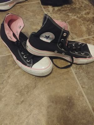 Pink and black Converse for Sale in Portland, OR