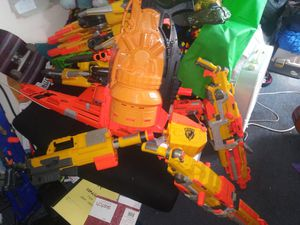 Nerf gun big lot for Sale, used for sale  Waterloo, NY