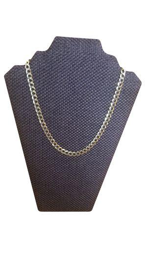 The Best 14k Solid Gold Link Chain for Men 20-23 inch 31.3 Gram for Sale in Loganville, GA