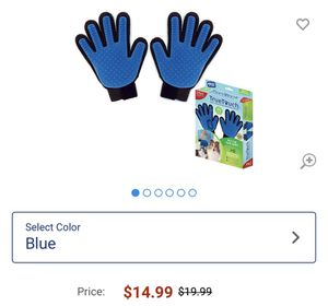 Pet grooming gloves, new for Sale in Ontario, CA