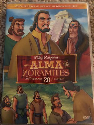 Alma and the Zoramites Cartoon DVD for Sale in Morrisville, NC