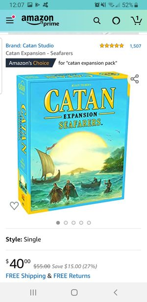Catania expansion seafarers for Sale in Phoenix, AZ