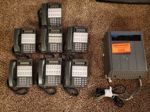 (7) Nec 22-button Office Phones & Nec Key Telephone System Box for Sale in Oak Lawn, IL