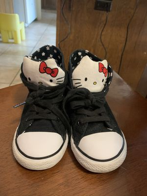 Converse shoes girl size 10 for Sale in Fresno, CA