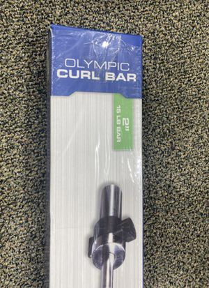 Fitness gear Olympic curl bar BRAND NEW for Sale in East Hanover, NJ