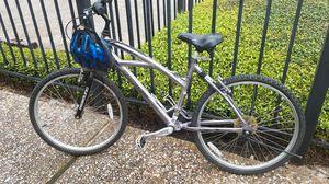 Ozone Silver canyon cruiser/mountain bike for Sale in Houston, TX