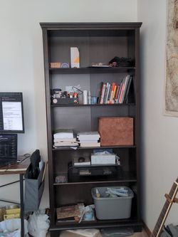 Brown Wood Bookshelf for Sale in Seattle,  WA