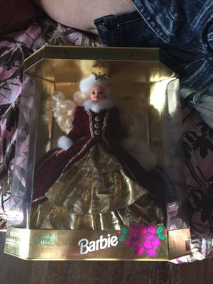 Happy holidays Barbie doll special edition for Sale in Malta, OH