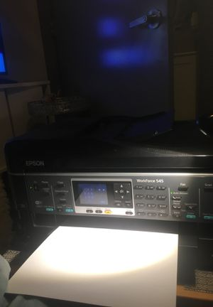 Epson color printer, scanner, fax Wi-Fi enabled for Sale in Seattle, WA