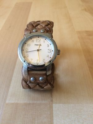 Women's leather fossil watch for Sale in Delaware, OH