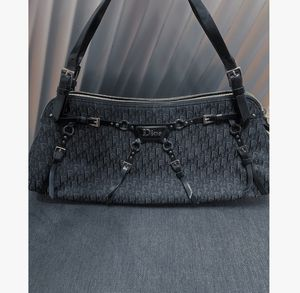 Dior Oblique buckle bag in Black for Sale in New York, NY