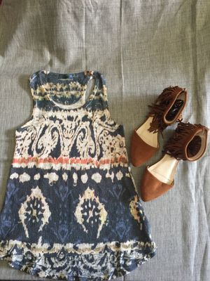 Blouse and shoes for Sale in Hemet, CA