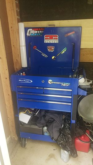 Tool box blue point for Sale in Alexandria, VA