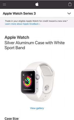 Apple Watch GPS 38 MM for Sale in Pittsburgh, PA