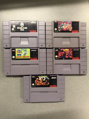 SNES Game Lot for Sale in San Antonio, TX