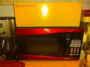 Red microwave brand new never for Sale in Orlando, FL