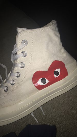 Comme des Garcons converses for Sale in Glen Arm, MD