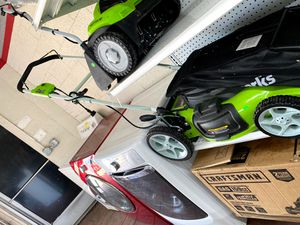 Greenworks electric lawn mower for Sale in Detroit, MI