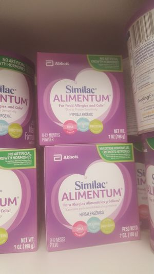 Over 15 cans of Similac Alimentum EXPIRES MAY- NOV 2021 for Sale in Fort Washington, MD